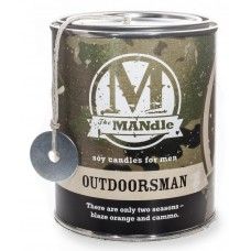EcoCandleCo Outdoorsman Soy Jar Candle ECCC1042
