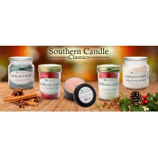 SouthernCandleClassics 5 Piece Holiday Scented Jar Candle Set LSSC1003
