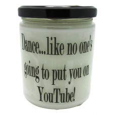 StarHollowCandleCo Dance, Like No One's Going To Put You on Youtube Baked Apple Pie Jar SHCC1307