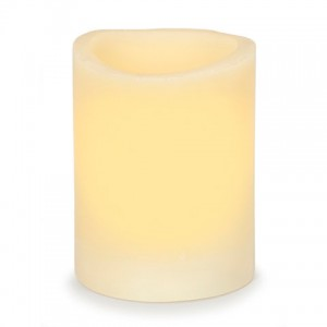 Charlton Home Wax Scented Flameless Candle DEIC1895