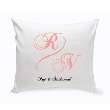 JDS Personalized Gifts Personalized Unity Marquis Cotton Throw Pillow JMSI2669