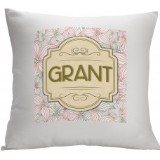 Monogramonline Inc. Personalized Pillow Cushion Cover MOOL1054