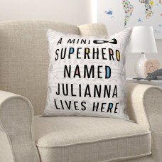 Zoomie Kids Heckstall Superhero Throw Pillow ZMIE7555