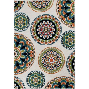 Bungalow Rose Bethea Green Area Rug BGRS7149