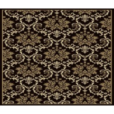 Fleur De Lis Living Banning Modern Black/Brown Indoor/Outdoor Area Rug FDLL8565