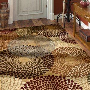 World Menagerie Apex Beige Area Rug WDMG8416