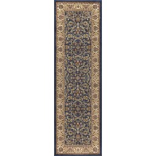 Astoria Grand Clarence Navy/Beige Area Rug ASTG7559