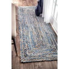 Beachcrest Home Cady Blue Area Rug BCHH4984