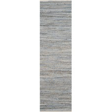 Beachcrest Home Gilchrist Hand-Woven Natural/Blue Area Rug BCHH7902
