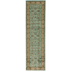 Charlton Home Brew Kettle Traditional Blue Area Rug CHRL2709