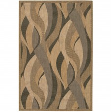 Latitude Run Karina Seagrass Beige Indoor/Outdoor Area Rug LTRN9658