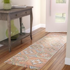 Mistana Peidmont Light Orange Area Rug MTNA3774