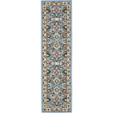 World Menagerie Britannia Blue Area Rug WRMG3724