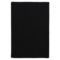 Charlton Home Glasgow Black Indoor/Outdoor Area Rug CHLH5374