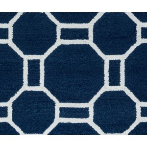 Ebern Designs Evangeline Hand-Tufted Indigo Indoor/Outdoor Area Rug EBND6428