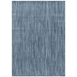 Highland Dunes Ephraim Blue Indoor/Outdoor Area Rug HIDN7158