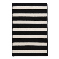 Viv + Rae Georg Black Indoor/Outdoor Area Rug VVRE3728
