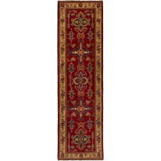 Bloomsbury Market One-of-a-Kind Bernard Hand-Knotted Wool Red Area Rug FBWA1683