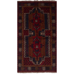 Bloomsbury Market One-of-a-Kind Bethany Hand-Knotted Wool Red Area Rug BBMT1357