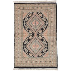 Bloomsbury Market One-of-a-Kind Etting Hand-Knotted Wool Tan Area Rug BLMS1865