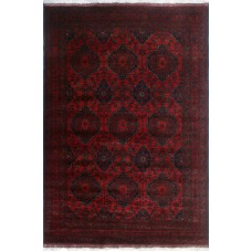Bloomsbury Market One-of-a-Kind Millar Yamina Hand-Knotted Wool Red Are Rug BLMA3289