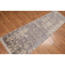 Bloomsbury Market One-of-a-Kind Purtell Hand-Knotted Wool Gray Area Rug PHBS1307