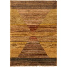 Bloomsbury Market One-of-a-Kind Roeder Hand-Knotted Wool Green/Brown Area Rug AFRU2522