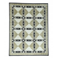 Bloomsbury Market One-of-a-Kind Versace Nepali Hand-Knotted Green/Black Area Rug RGRG5133