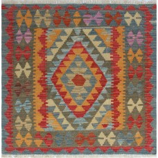 Bungalow Rose One-of-a-Kind Corda Kilim Hand-Woven Wool Gold Area Rug BGLS6572