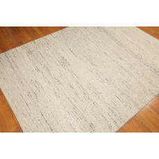 Latitude Run One-of-a-Kind Losey Kilim Hand-Knotted Wool Beige/Black Area Rug OROH1230