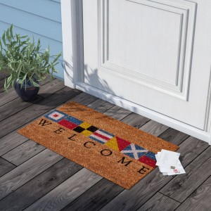 Beachcrest Home Platanissos Welcome Doormat BCMH2453