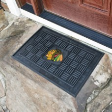FANMATS NHL - Chicago Blackhawks Medallion Door Mat FNM8008