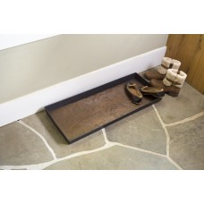 Plow Hearth Woodland Boot Tray and Scraper PLHE3084