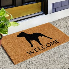 Red Barrel Studio Reimer Pit Bull Doormat RBRS1064