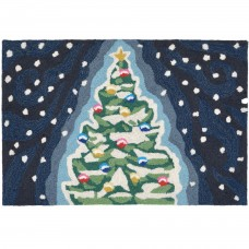 The Holiday Aisle Xmas Tree Doormat HLDY7231