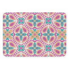 East Urban Home Boho Bath Mat EHME3822