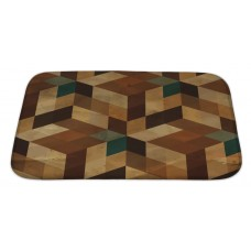 Gear New Delta Vintage Geometric Bath Rug GERN2868