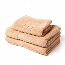 Homestead Textiles Ring Spun 3 Piece 100% Cotton Towel Set TQV1072