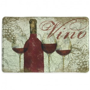 Bacova Guild Vino Memory Foam Slice Kitchen Mat BCGD1534