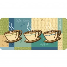 Latitude Run Curcio Coffee Cups Kitchen Mat LTDR2732
