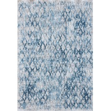 Bungalow Rose Grisby Ivory/Blue Area Rug BGLS3985
