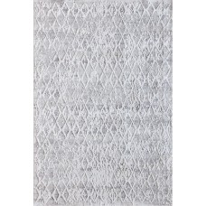 Bungalow Rose Grisby Ivory/Silver Area Rug BGLS3983