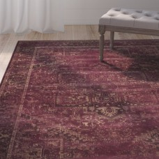 Lark Manor Meline Red Area Rug LARK6971