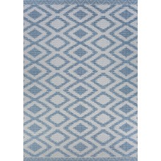Union Rustic Temple Cloud Blue Indoor/Outdoor Area Rug CU7146