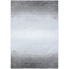 Williston Forge Driggers Gray/White Area Rug CU7033
