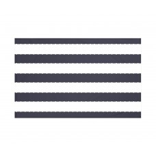Breakwater Bay North Bay Stripes Print Throw Blanket BRWT6004