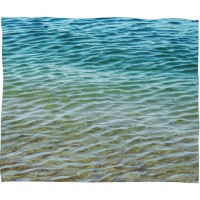 Langley Street Rory Ombre Sea Throw Blanket LGLY6998