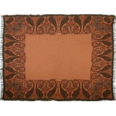 Sabira Persian Charm Boiled Wool Throw SBRA1065