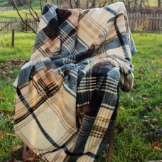 Tache Home Fashion Winter Cabin Flannel Polyester Throw Blanket TAHF1011
