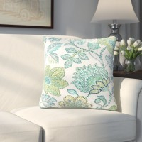 Alcott Hill Corliss Floral Outdoor Throw Pillow ALTH6296